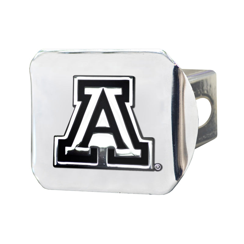 University of Arizona Chrome Hitch Cover