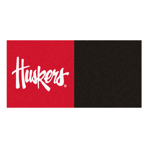 University of Nebraska Huskers Carpet Tiles