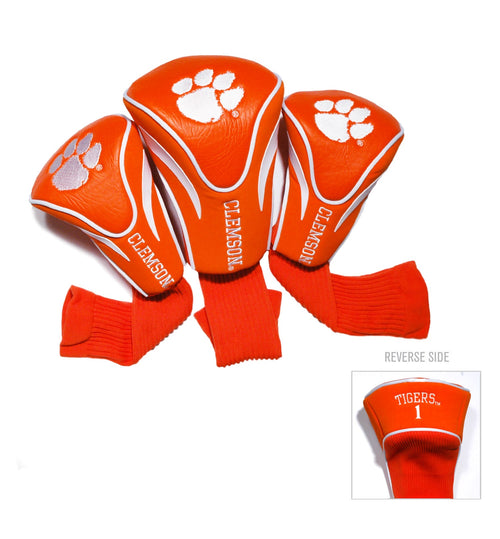 Clemson University Contour Sock Headcovers (3 pack)