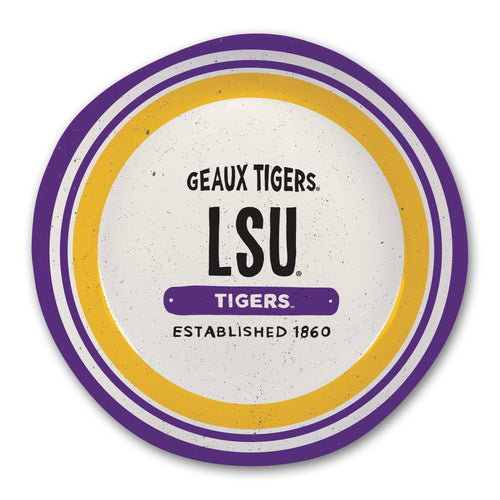 Louisiana State University Heavy Weight Melamine Bowl