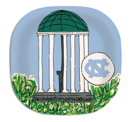 University of North Carolina Melamine Plate