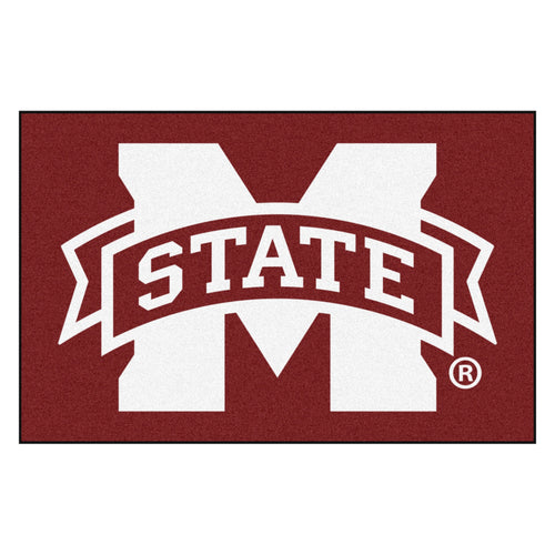 Mississippi State University Logo Area Rug