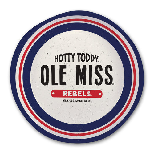 University of Mississippi Heavy Weight Melamine Bowl
