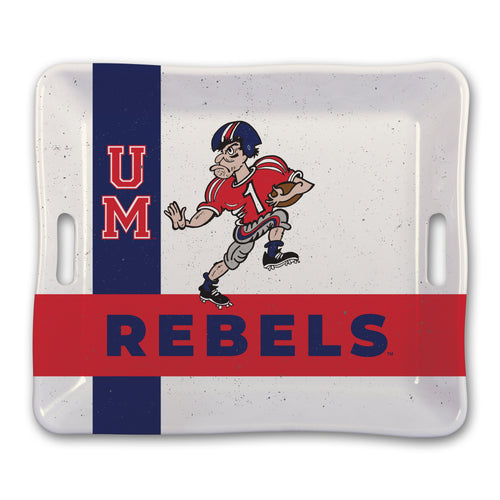 University of Mississippi Heavy Weight Melamine Tray