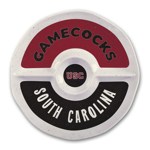 University of South Carolina Heavy Weight Melamine Divided Tray