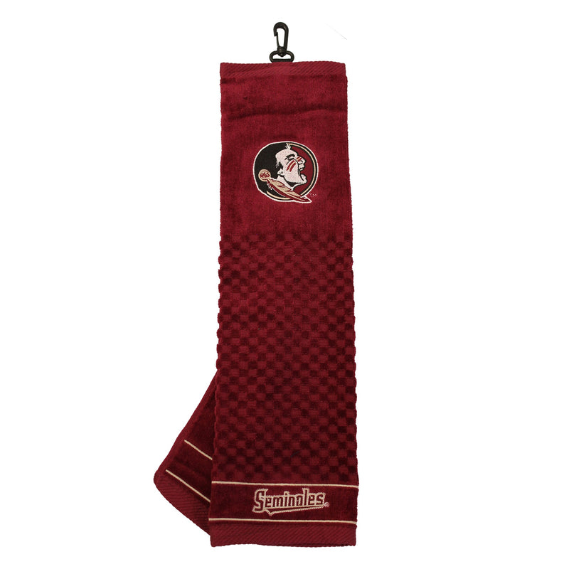 Florida State University Embroidered Golf Towel