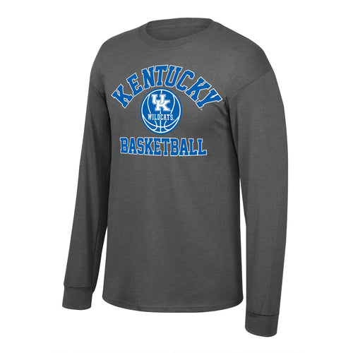 University of Kentucky Men's Basketball Long Sleeve Graphite Tee