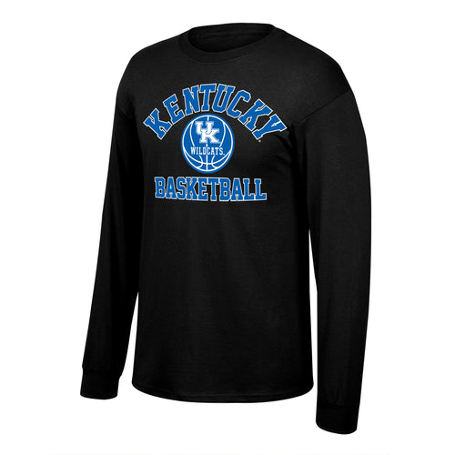 University of Kentucky Men's Basketball Long Sleeve Black Tee