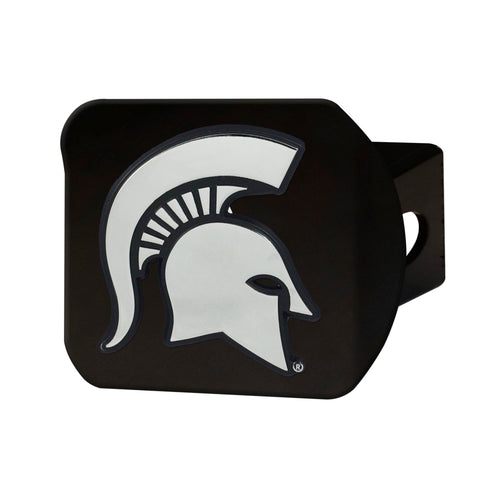 Michigan State University Black Hitch Cover