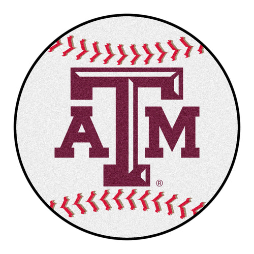 Texas A&M Baseball Area Rug