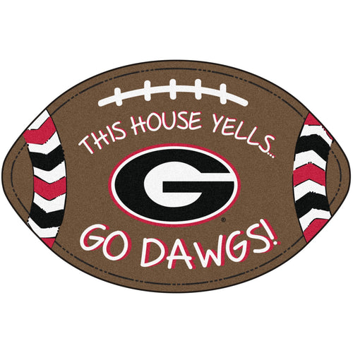 University of Georgia Football Southern Style Rug