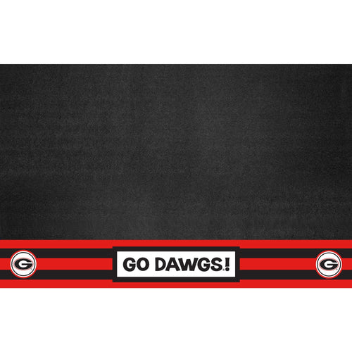 University of Georgia Southern Style Vinyl Grill Mat