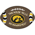 University of Iowa Football Southern Style Rug