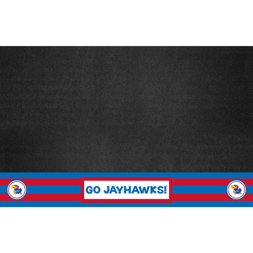 University of Kansas Southern Style Vinyl Grill Mat