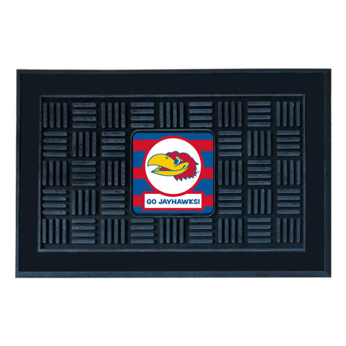 University of Kansas Southern Style Vinyl Door Mat