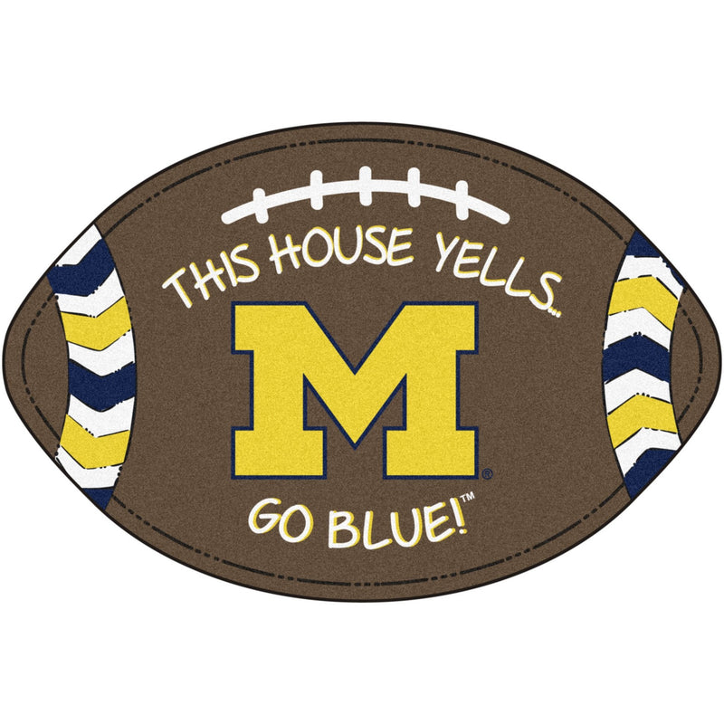 University of Michigan Football Southern Style Rug
