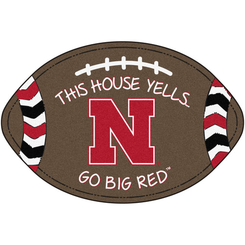 University of Nebraska Football Southern Style Rug