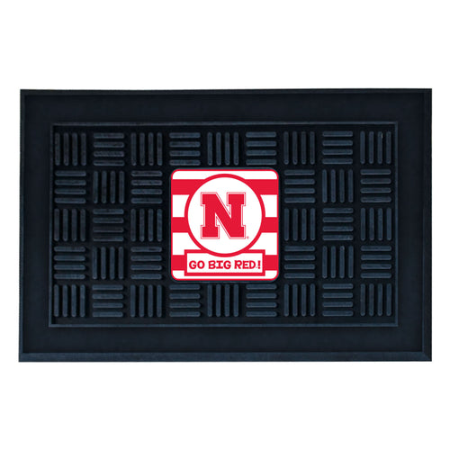 University of Nebraska Southern Style Vinyl Door Mat