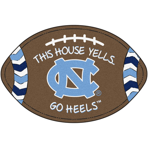 University of North Carolina Football Southern Style Rug