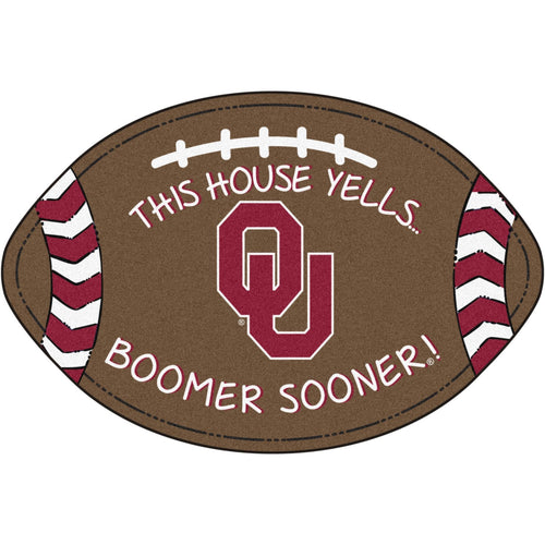 University of Oklahoma Football Southern Style Rug