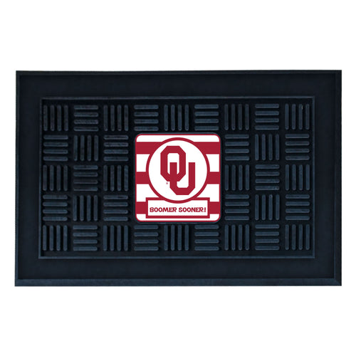 University of Oklahoma Southern Style Vinyl Door Mat