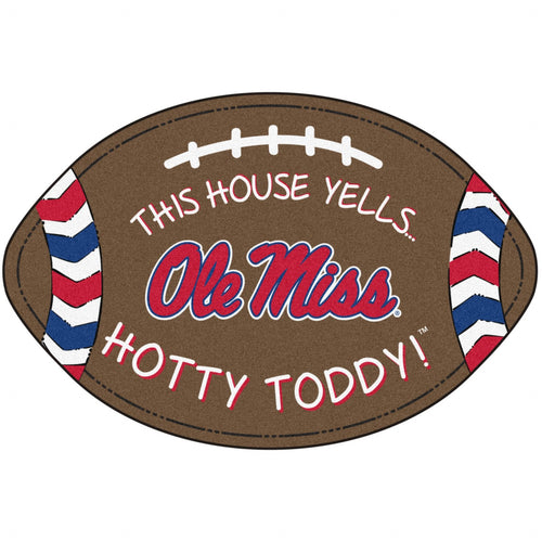 University of Mississippi Football Southern Style Rug