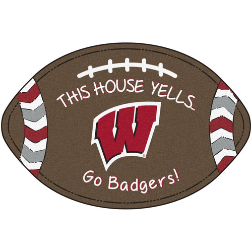 University of Wisconsin Football Southern Style Rug