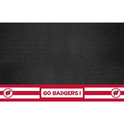 University of Wisconsin Southern Style Vinyl Grill Mat