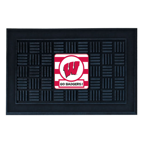 University of Wisconsin Southern Style Vinyl Door Mat