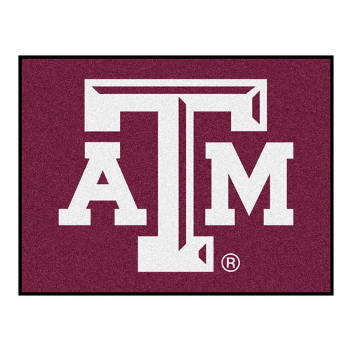 Texas A&M Logo Area Rug