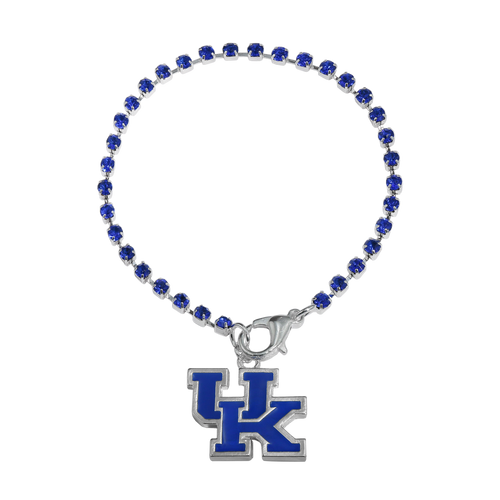 University of Kentucky Crystal Logo Bracelet