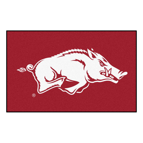 University of Arkansas Logo Area Rug