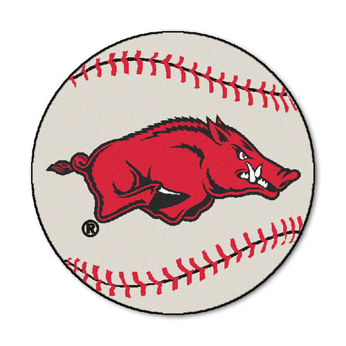 University of Arkansas Baseball Area Rug