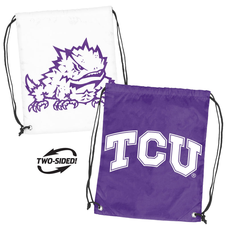 Texas Christian University Doubleheader Backsack