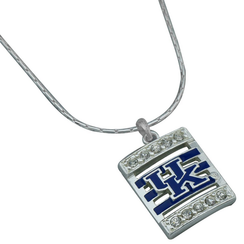 University of Kentucky Square Stripe Necklace