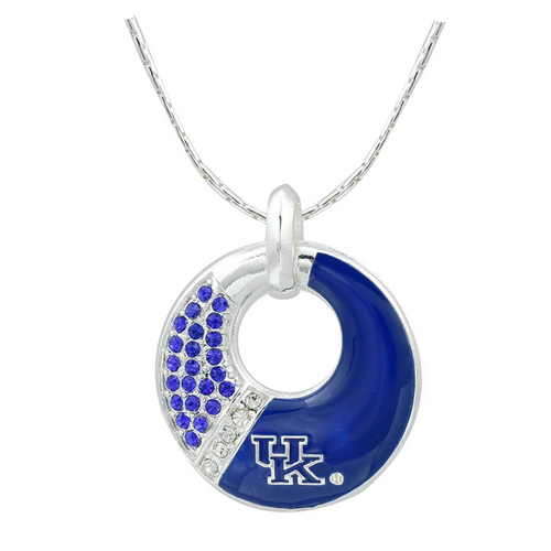 University of Kentucky Star Circle Necklace Noelle