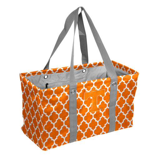 University of Tennessee Quatrefoil Picnic Caddy