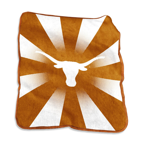 University of Texas Raschel Blanket