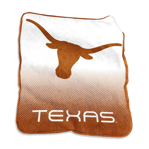 University of Texas Longhorns Raschel Blanket