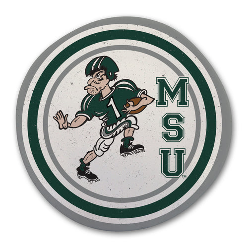 Michigan State University Heavy Weight Melamine Plate