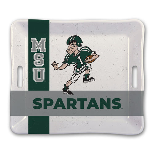 Michigan State University Heavy Weight Melamine Tray