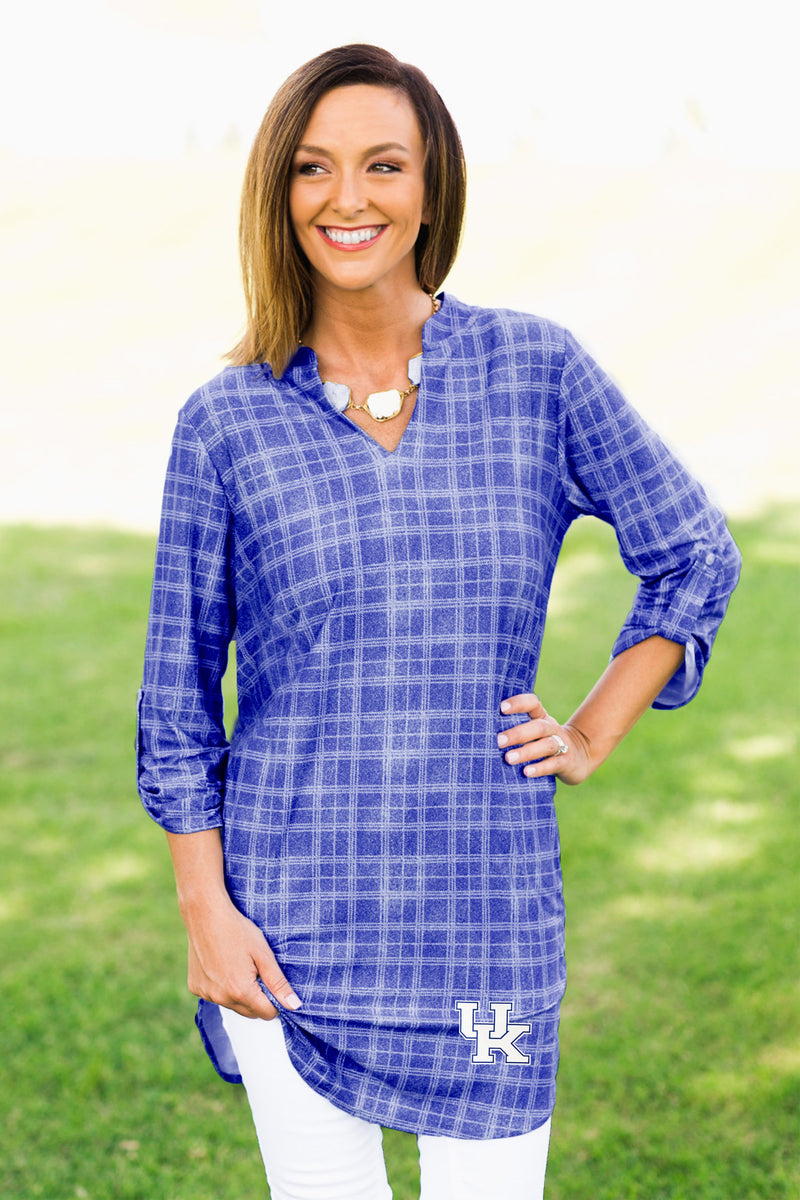 University of Kentucky Extra Long Tunic