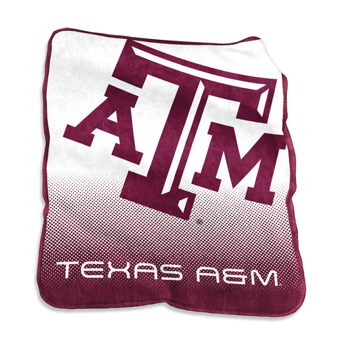 Texas A&M University Raschel Blanket