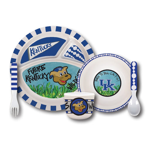 University of Kentucky Melamine Kids Dish Set
