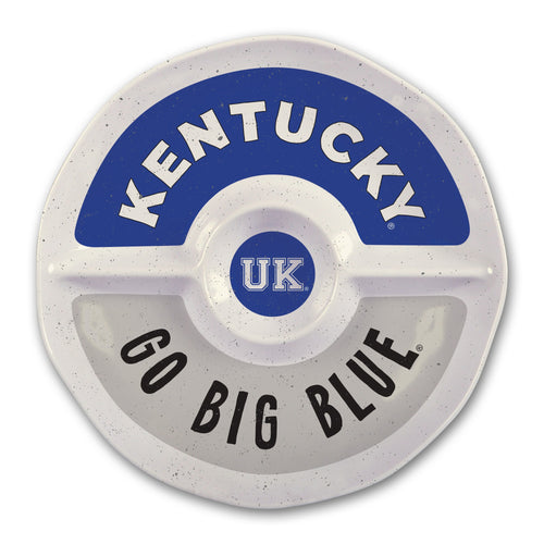 University of Kentucky Heavy Weight Melamine Divided Tray