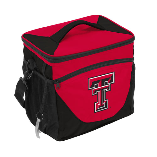 Texas Tech University 24 Can Cooler