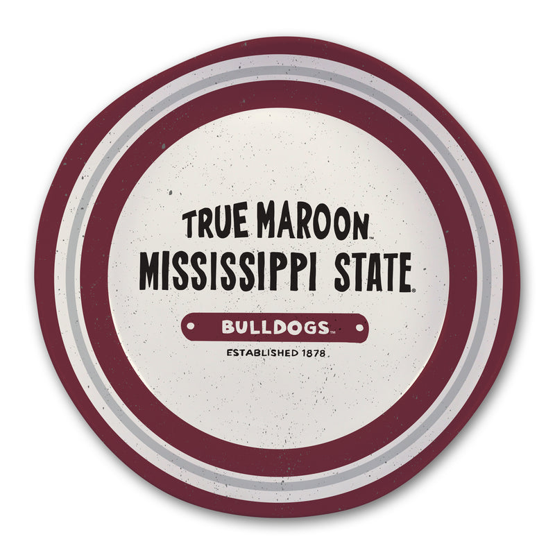Mississippi State University Heavy Weight Melamine Bowl