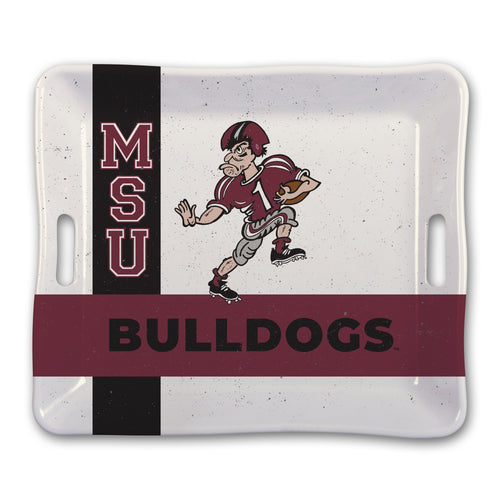 Mississippi State University Heavy Weight Melamine Tray