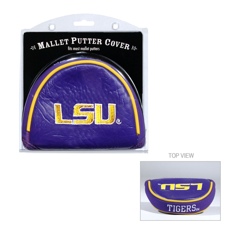 Louisiana State University Mallet Putter Cover
