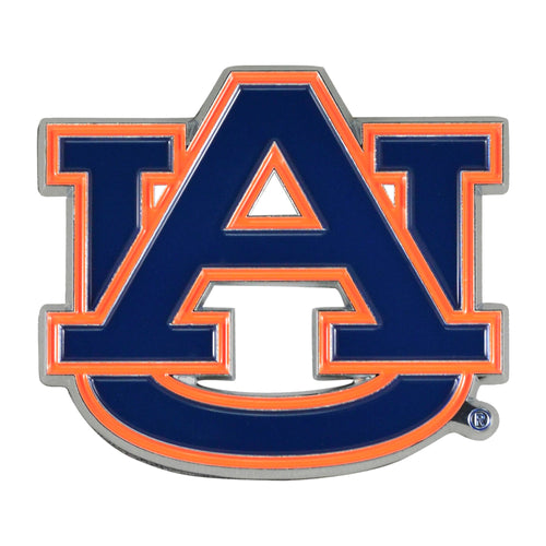 Auburn University Color Chrome Car Emblem